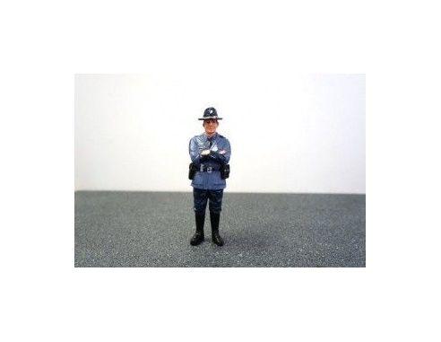 American Diorama 16161 STATE TROOPER TIM 1/24 Modellino