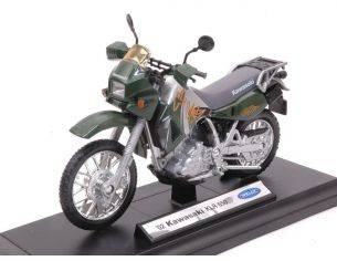 Welly WE38512B KAWASAKI KLR 650 1:18 Modellino