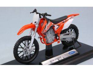 Welly WE38512F KTM SX-F 1:18 Modellino