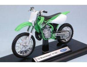 Welly WE38512L KAWASAKI KX 250 1:18 Modellino