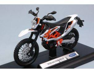 Welly WE38512M KTM 690 ENDURO R 1:18 Modellino