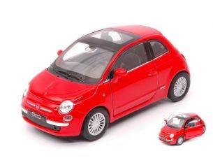Welly WE38513L FIAT 500 RED cm 11 Modellino