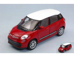 Welly WE38513P FIAT 500L 2013 RED cm 11 Modellino