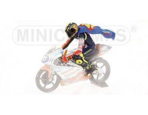 MINICHAMPS 312970146 PILOTA RIDING VALENTINO ROSSI WORLD CHAMPION GP 1997 Modellino