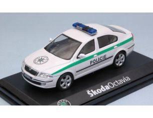 Abrex AB001XA SKODA OCTAVIA POLICIE 1:43 Modellino