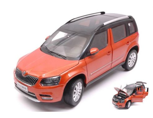 abrex ab18031sf skoda yeti fl 2013 orange metallic 1 18. Black Bedroom Furniture Sets. Home Design Ideas