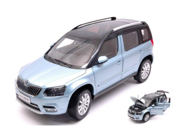 auto 1 18 abrex ab18031sk skoda yeti fl 2013 light blue. Black Bedroom Furniture Sets. Home Design Ideas