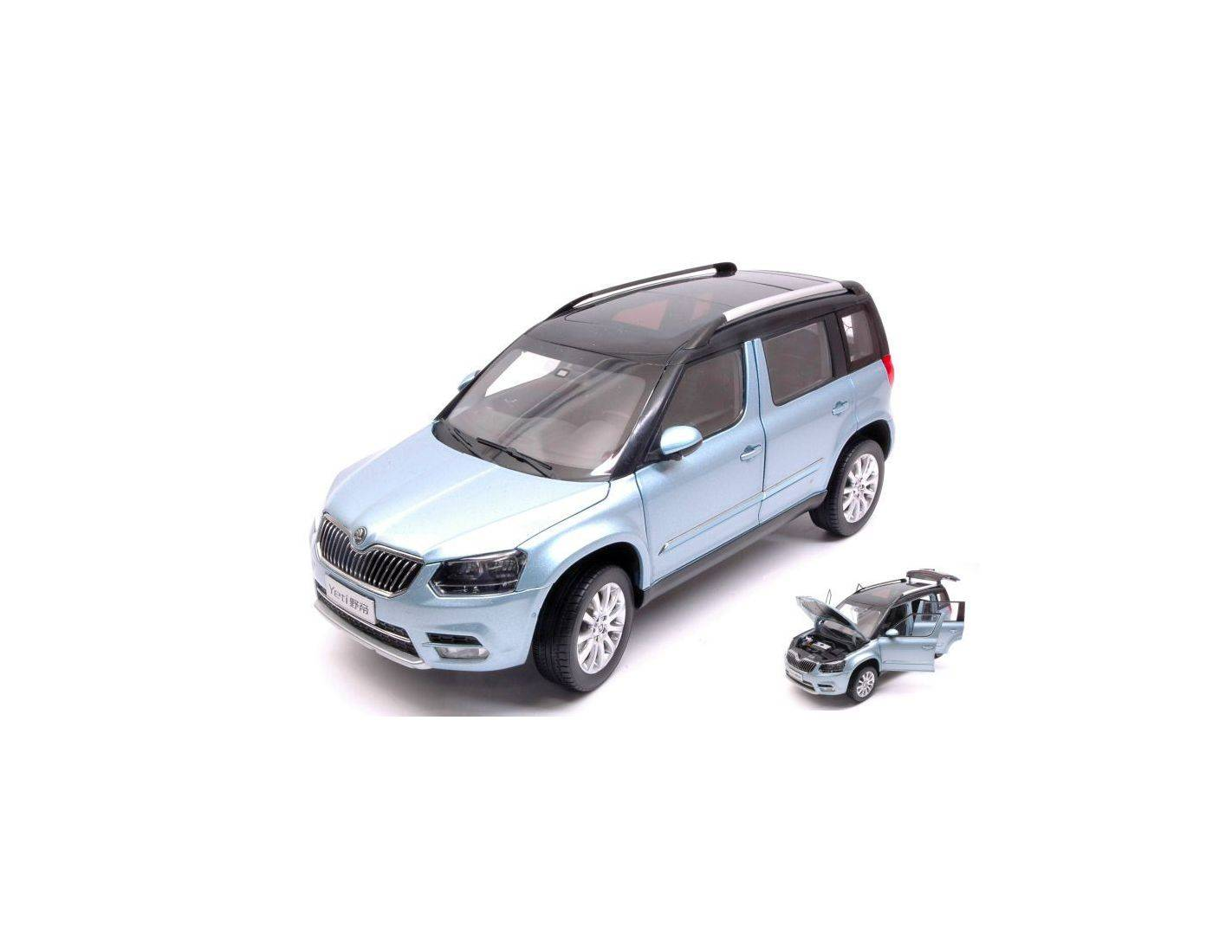 Abrex AB18031SK SKODA YETI FL 2013 LIGHT BLUE METALLIC 1:18 Modellino