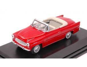 Abrex AB703BB SKODA FELICIA ROADSTER 1963 RED 1:43 Modellino