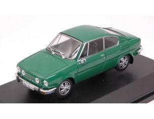 Abrex AB707QF SKODA 110R COUPE' 1978 GREEN 1:43 Modellino