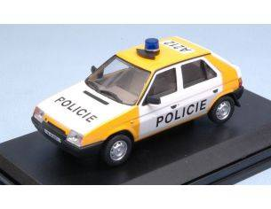 Abrex AB708XA1 SKODA FAVORIT 1987 POLICIE CR 91/92 1:43 Modellino