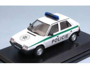 Abrex AB708XA2 SKODA FAVORIT 1987 POLICIE CR 94/95 1:43 Modellino
