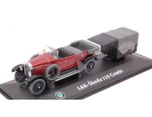 Abrex AB902RC LAURIN & KLEMENT-SKODA 110 COMBI 1927 DARK RED 1:43 Modellino