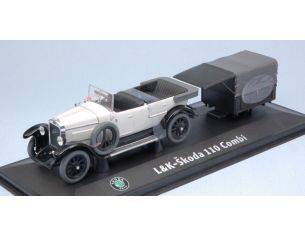 Abrex AB902YA LAURIN & KLEMENT-SKODA 110 COMBI 1927 WHITE 1:43 Modellino