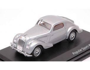 Abrex AB903A SKODA POPULAR SPORT MONTE CARLO 1935 SILVER 1:43 Modellino
