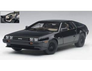 Auto Art / Gateway AA79917 DE LOREAN DMC-12 1981 METALLIC BLACK 1:18 Modellino