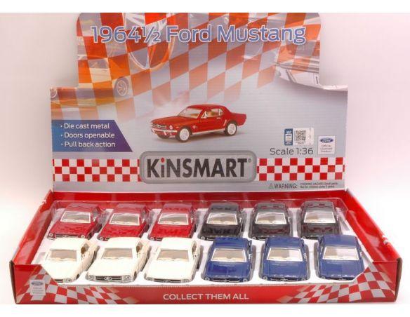 Hot Wheels KT5351D FORD MUSTANG 1964 1:36 Modellino