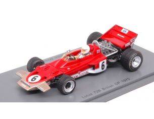 Spark Model S5344 LOTUS 72B JOHN MILES 1970 N.6 RETIRED BRITISH GP 1:43 Modellino