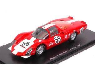 Spark Model S5421 PORSCHE 906 LH N.55 5th 24 H DAYTONA 1967 D.SPOERRY-R.STEINEMANN 1:43 Modellino