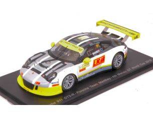 Spark Model SA112 PORSCHE 911 GT3 N.911 4th MACAU GT WORLD CUP 2016 E.BAMBER 1:43 Modellino