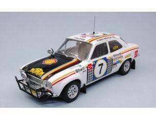 Triple 9 T9-1800132 FORD ESCORT RS1600 N.7 WINNER SAFARI RALLY 1972 H.MIKKOLA-G.PALM 1:18 Modellino