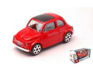 Bburago BU30046R FIAT 500 1965 RED 1:43 Modellino