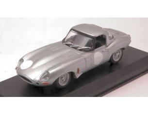 Best Model BT9680 JAGUAR HERITAGE E-TYPE LIGHTWEIGHT 1963 SILVER 1:43 Modellino