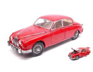 Paragon Models PAR98322R JAGUAR MARK II 3.8 1962 RED 1:18 Modellino