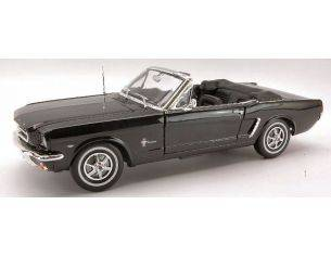 Welly WE0063 FORD MUSTANG CABRIO 1964 BLACK 1:18 Modellino