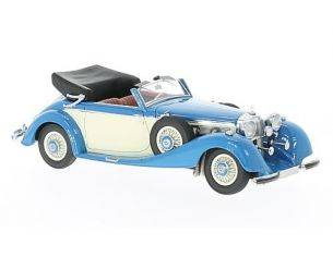 Neo Scale Models NEO46166 MERCEDES 540K TIPO A CABRIOLET 1936 BLUE 1:43 Modellino