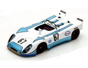Spark Model S1982 PORSCHE 908/02 N.67 NC LM 1972 C.POIROT-P.FARJON 1:43 Modellino