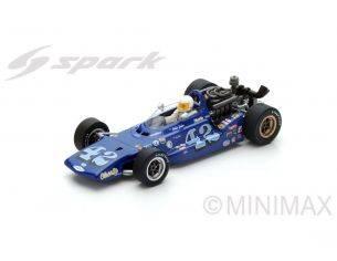 Spark Model S4263 EAGLE MK7 N.42 INDY 500 1969 D.HULME 1:43 Modellino