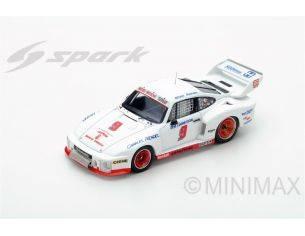 Spark Model S43SE78 PORSCHE 935 N. 9 WINNER SEBRING 12H 1978 REDMAN-MENDEZ-GARRETSON 1:43 Modellino