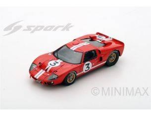 Spark Model S5180 FORD MK2 N.3 RETIRED LM 1966 D.GURNEY-J.GRANT 1:43 Modellino