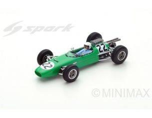Spark Model S5252 BRABHAM BT11 B.ANDERSON 1964 N.22 3rd AUSTRIAN GP 1:43 Modellino