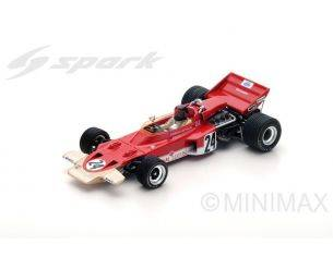 Spark Model S5345 LOTUS 72C E.FITTIPALDI 1970 N.24 WINNER US GP 1:43 Modellino