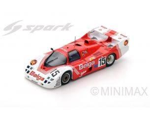 Spark Model S5507 PORSCHE 356C N.15 DNF LM 1983 J.M.MARTIN-P.MARTIN-M.DUEZ 1:43 Modellino