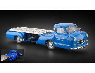 CMC CMC143 MERCEDESRACING CAR TRANSPORTER 1954-55 THE BLUE WONDER1:18 Modellino