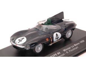 Ixo model LM1956 JAGUAR D N.4 WINNER LM 1956 N.SANDERSON-R.FLOCKHART RE-EDITION 1:43 Modellino