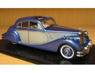 Neo Scale Models NEO49544 JAGUAR MK V 1950 BLUE/SILVER 1:43 Modellino