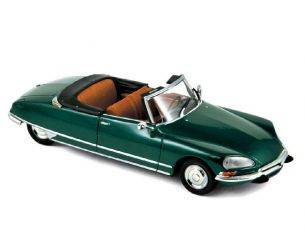Norev NV157080 CITROEN DS 21 CABRIOLET 1971 FOREST GREEN 1:43 Modellino