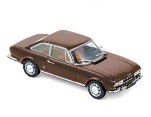 Norev NV475433 PEUGEOT 504 COUPE' 1969 BROWN METALLIC 1:43 Modellino