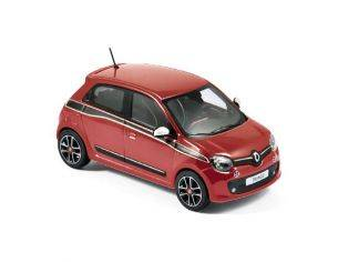 Norev NV517416 RENAULT TWINGO SPORT PACK 2014 FLAMME RED 1:43 Modellino