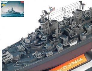 Accademy ACD14223 USS MISSOURI KIT 1:700 Modellino