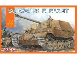 Dragon D7515 SD.KFZ.184 ELEFANT KIT 1:72 Modellino