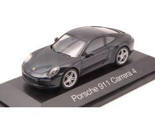 Herpa HP7109 PORSCHE 911 CARRERA 4 COUPE' BLUE 1:43 Modellino