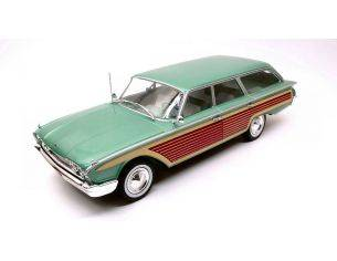 Mac Due MCG18047 FORD COUNTRY SQUIRE METALLIC GREEN/WOOD 1:18 Modellino