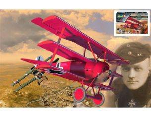 Revell RV05778 RED BARON GIFT SET 125 YEARS ANNIVERSARY LIMITED EDITION KIT 1:28 Modellino