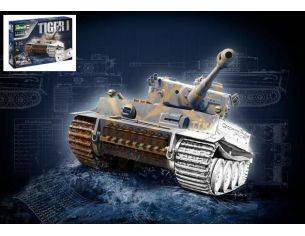 Revell RV05790 TIGER I AUSF.E 75th ANNIVERSARY GIFT SET KIT 1:35 Modellino