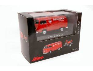 Schuco SH3340 VW T2A + TRAILER KREIDLER SERVICE 1:43 Modellino
